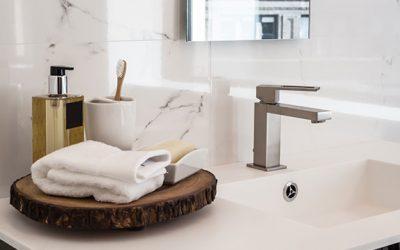 Newly renovated bathroom and plumbing