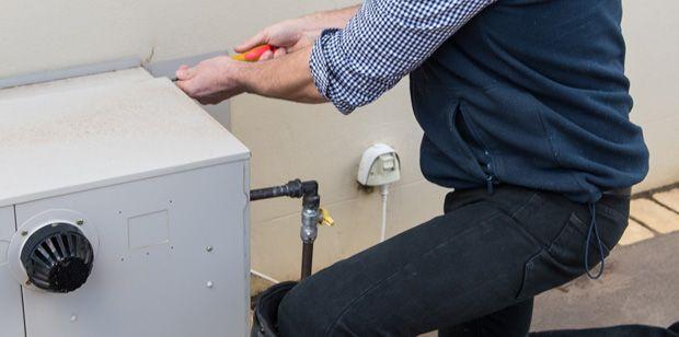 Gasfitting plumber