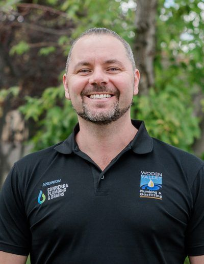 Andrew Skipper - Manager of Canberra Plumbing